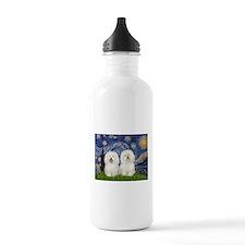 Starry Night / 2 Bolognese Water Bottle