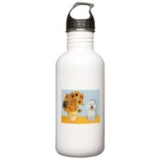 Sunflowers & Bolognese Water Bottle