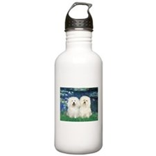 Lilies (#5) & 2 Bolognese Water Bottle