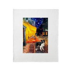 Cafe / Border Collie (Z) Throw Blanket