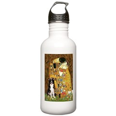 The Kiss & Border Collie Water Bottle