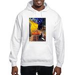 Cafe & Boston Terrie Hooded Sweatshirt