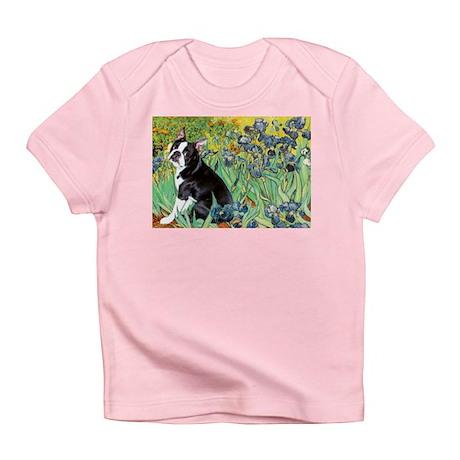 Irises & Boston Ter Infant T-Shirt