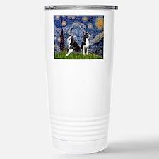 Starry Night & Bos Ter Travel Mug