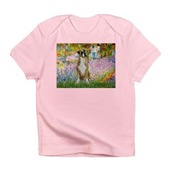 Boxer in Monet's Garden Infant T-Shirt