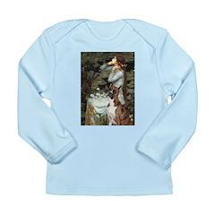 Ophelia & Brindle Boxer Long Sleeve Infant T-Shirt