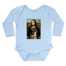 Mona & Boxer Long Sleeve Infant Bodysuit