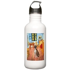 Room with a Boxer Water Bottle