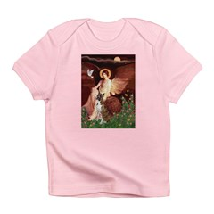 Seated Angel & Boxer Infant T-Shirt