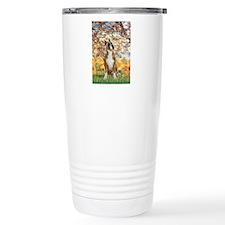 Spring with a Boxer Travel Mug