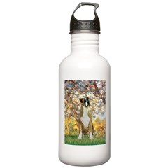 Spring with a Boxer Water Bottle
