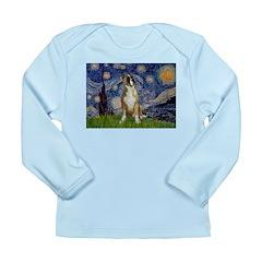 Starry / Boxer Long Sleeve Infant T-Shirt