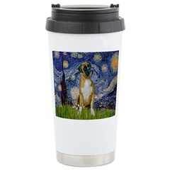 Starry / Boxer Stainless Steel Travel Mug