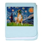 Starry / Boxer baby blanket