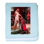 The Accolade & Boxer baby blanket