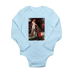 The Accolade & Boxer Long Sleeve Infant Bodysuit