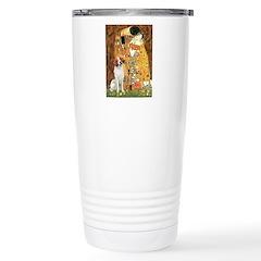 Kiss/Brittany Spaniel Travel Mug