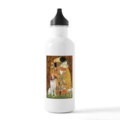 Kiss/Brittany Spaniel Water Bottle