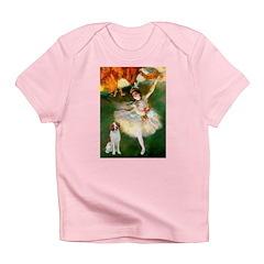 Dancer/Brittany Spaniel Infant T-Shirt