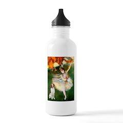 Dancer/Brittany Spaniel Water Bottle