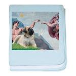 Creation / Bullmastiff baby blanket