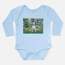 Bridge-BullTerrier (P) Long Sleeve Infant Bodysuit