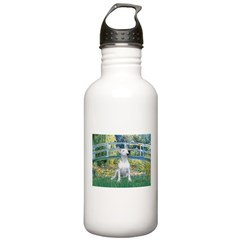 Bridge-BullTerrier (P) Water Bottle