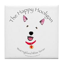 Happy Hooligan Tile Coaster