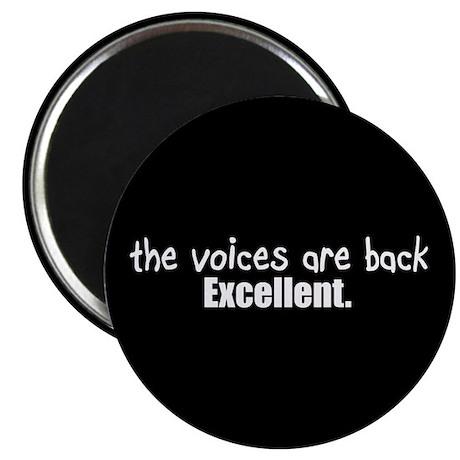 Crazy Voices Magnet