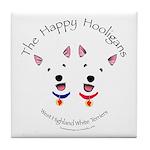 Happy Hooligans Tile Coaster