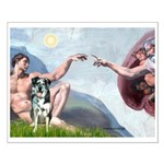 Creation / Catahoula Leopard Small Poster