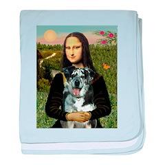 Mona's Catahoula Leopard baby blanket