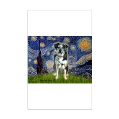 Starry / Catahoula Leopard Dog Posters