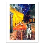 Cafe / Catahoula Leopard Dog Small Poster
