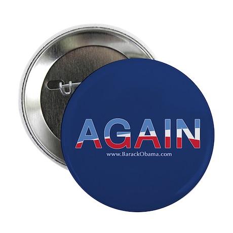 "Obama AGAIN Button 2.25"" - 100 pack"