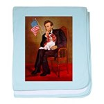 Lincoln's Cavalier baby blanket