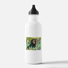 Irises & Cavalier Water Bottle