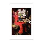 Lady & Cavalier (BT) Mini Poster Print