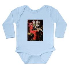 Lady & Cavalier (BT) Long Sleeve Infant Bodysuit