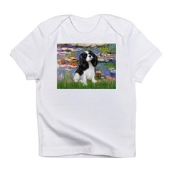 Lilies and Tri Cavalier Infant T-Shirt