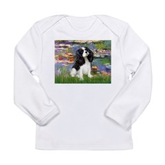 Lilies and Tri Cavalier Long Sleeve Infant T-Shirt