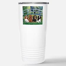 Bridge & 4 Cavaliers Travel Mug