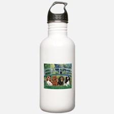 Bridge & 4 Cavaliers Water Bottle