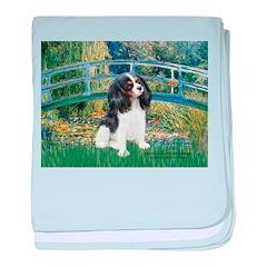 Bridge & Tri Cavalier baby blanket