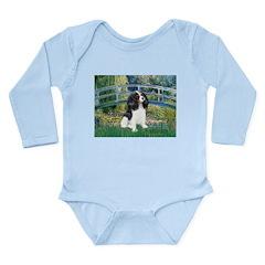 Bridge & Tri Cavalier Long Sleeve Infant Bodysuit