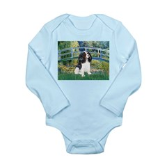 Bridge & Tri Cavalier Long Sleeve Infant Bodysuit
