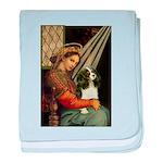 Madonna & Tri Cavalier baby blanket