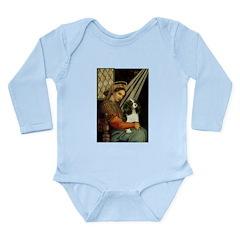 Madonna & Tri Cavalier Long Sleeve Infant Bodysuit