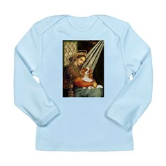 Madonna & Cavalier Long Sleeve Infant T-Shirt