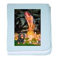 Fairies & Cavalier (BT) baby blanket